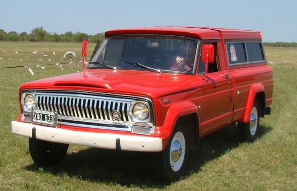 Ika Jeep Gladiatorun Clásico Reconocido El Baúl